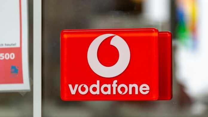 Vodafone-Schild