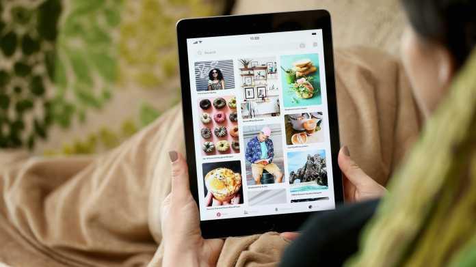 Pinterest auf dem iPad