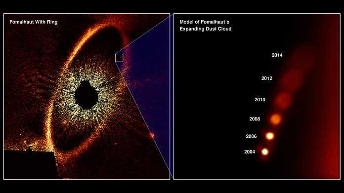 Exoplanet verschwunden: Formalhaut b war wohl gigantische Trümmerwolke