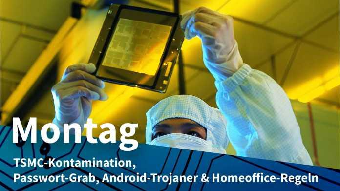 Chip-Inspektion bei TSMC