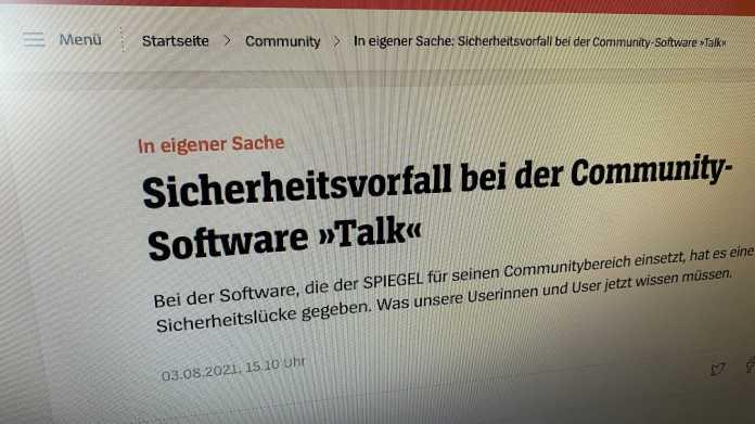 Bild der Spiegel-Webseite