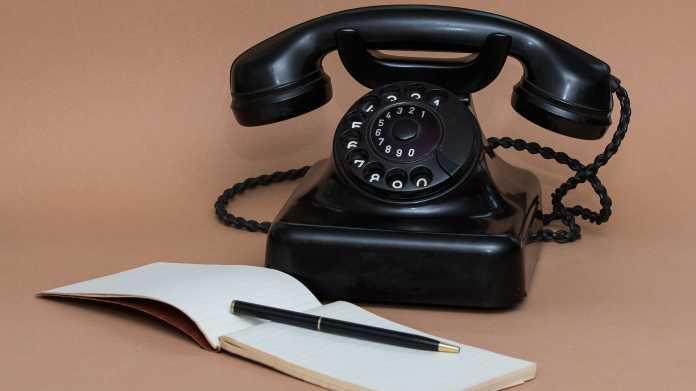 Schwarzes Telefon