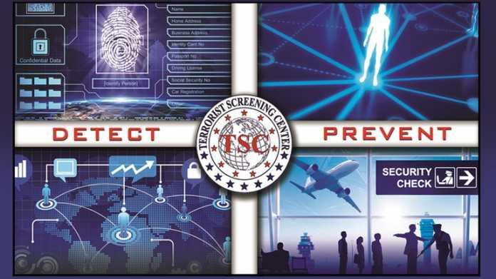 """Sujet des """"Terrorist Screening Center"""" mit den Schlagworten Detect, Prevent und Security Check"""