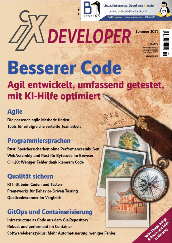 """iX-Developer-Sonderheft """"Besserer Code"""""""