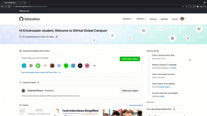 GitHub Global Campus