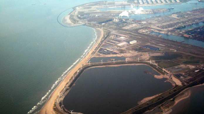 Luftaufnahme der Massvlakte