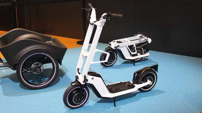 SoFlow Concept Clever Commute inspired by BMW