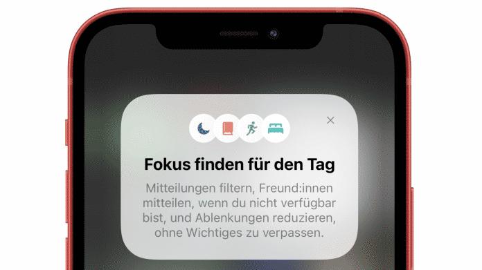 iOS 15 Fokus