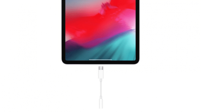 Apples USB-C-nach-Klinke-Adapter.