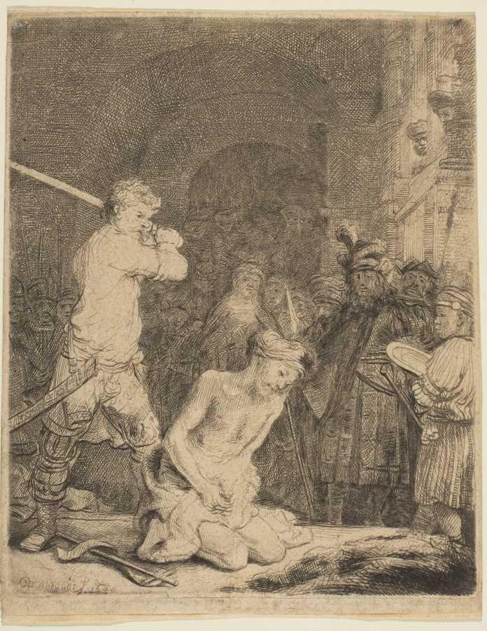 Rembrandt-Radierung