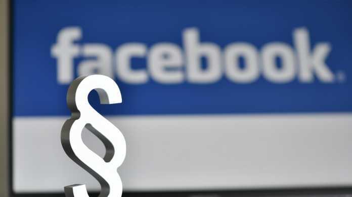 Facebook und ein Paragraphenzeichen
