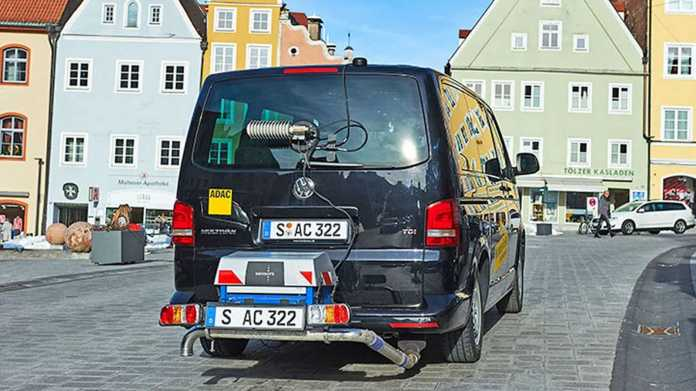 VW T5 Abgasmessung