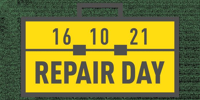 16. Oktober 2021: Repair Day.
