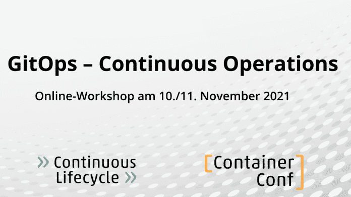 Online-Workshop: GitOps – Continuous Operations