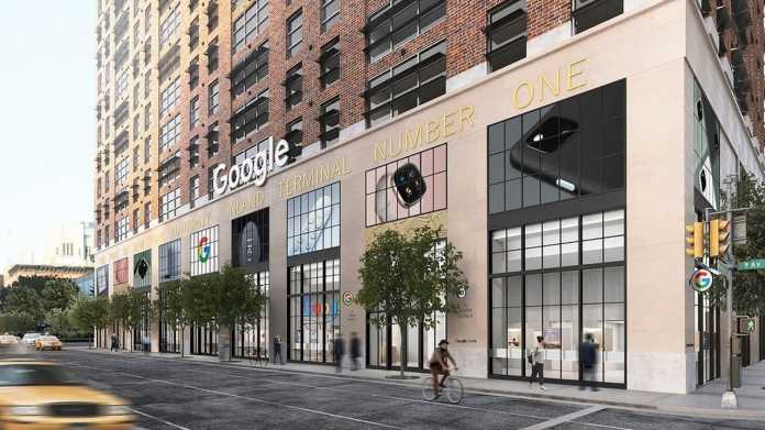 Google Store in New York City