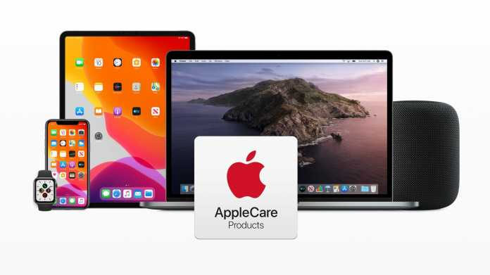 Die AppleCare+-Produkte.