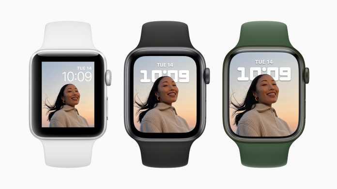 Apple Watch Seres 7 im Vergleich