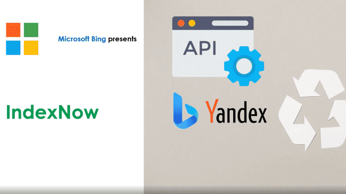 Präsentationsfolie Microsofts zu IndexNow
