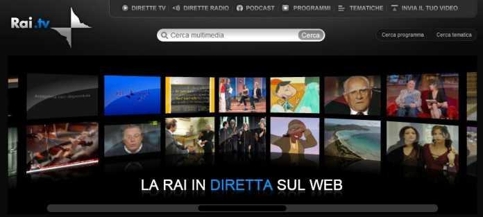 Silverlight-3-Beispiel RAI.tv