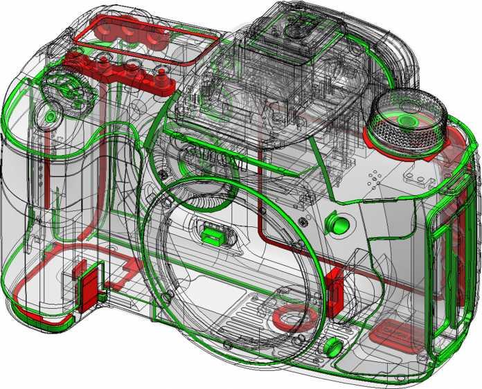 Dichtkunst: Die EOS 7D wurde aufwendig gegen Staub und Spritzwasser abgedichtet.