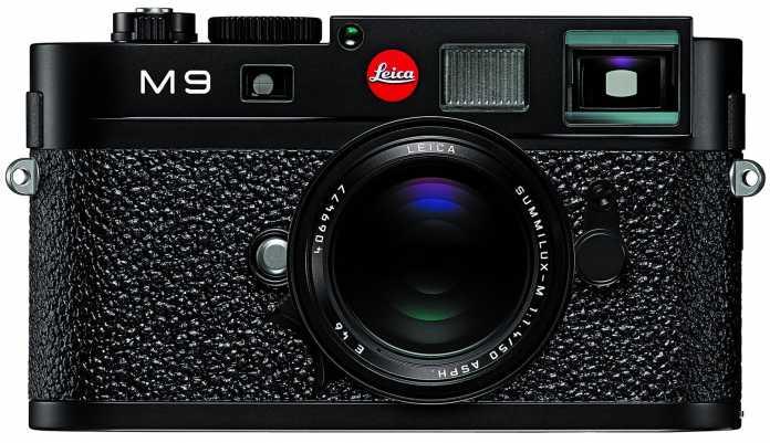 Wieder mit rotem Punkt: Leica M9