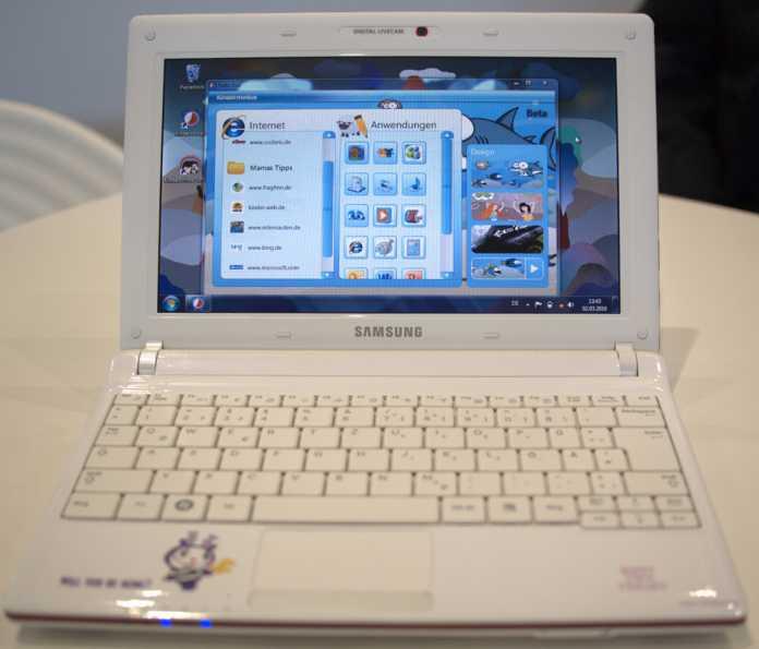 Microsoft entwickelt Netbooks für Kinder