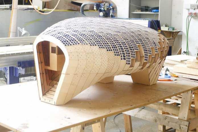 Prototyp eines Solarhauses