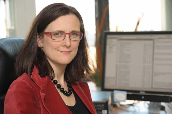 """Cecilia Malmström, EU-Kommissarion für das Generaldirektorat """"Home Affairs"""""""