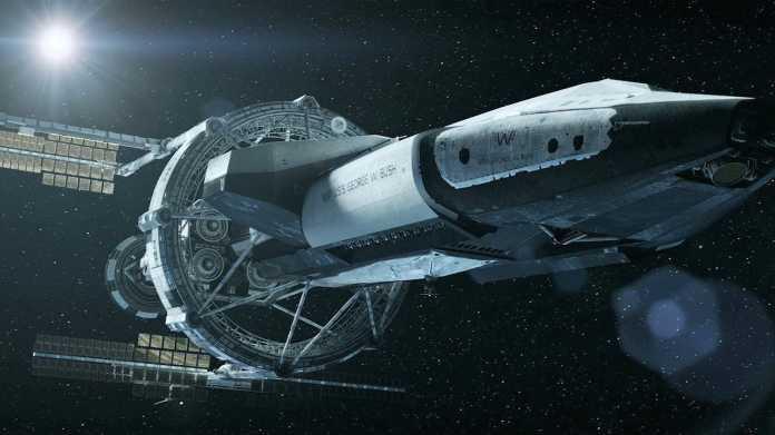 Erd-Kommandoschiff