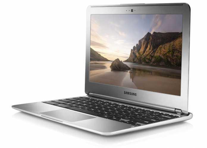 Google bringt sowohl das Chromebook von Samsung...