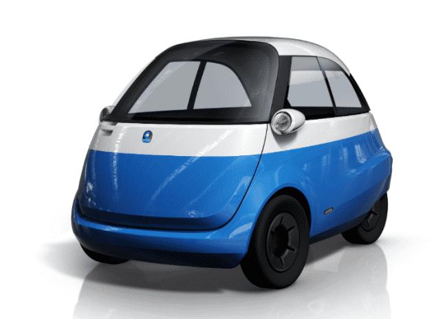 Elektroauto Microlino Micro Mobility Pr 228 Sentiert
