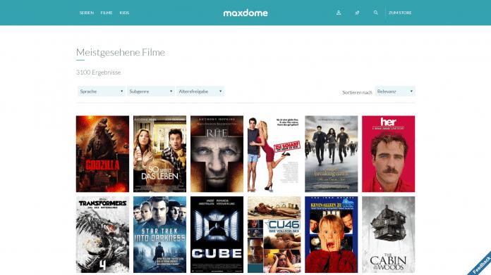 Maxdome Neue Filme