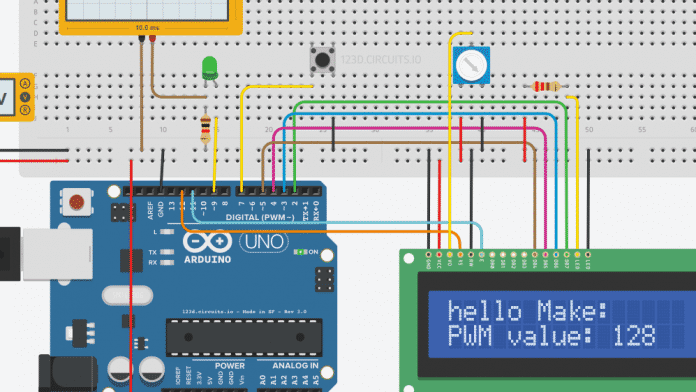 Screenshot Autodesk 123D Circuit Electronic Lab