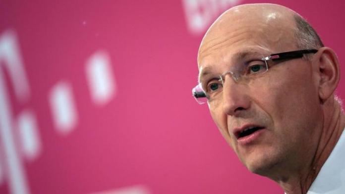 Timotheus Höttges, CEO der Deutschen Telekom AG (DTAG)