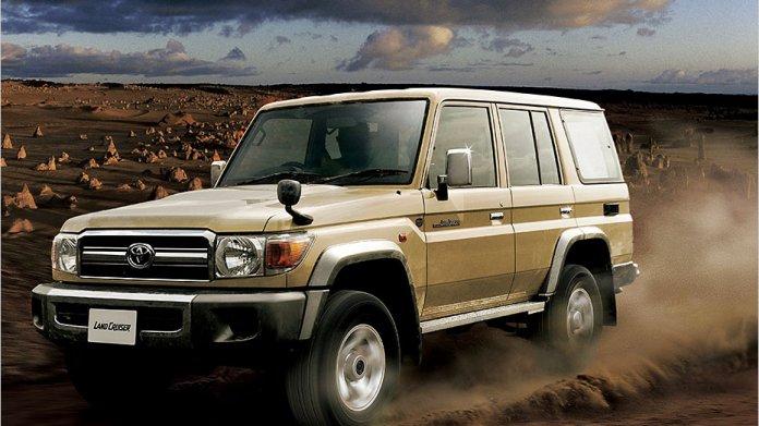 In Form eines Sondermodells bringt Toyota den legendären Land Cruiser 70 zurück nach Japan.