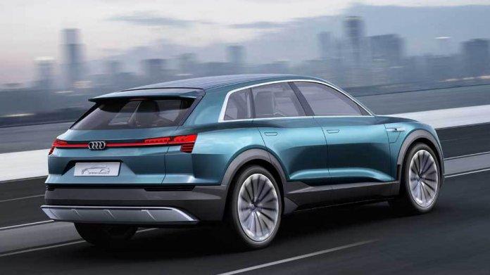 Studie Audi e-tron quattro concept