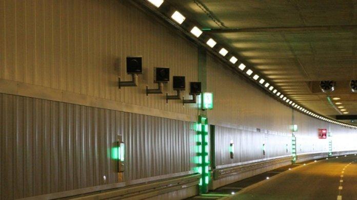 Blitzer im Tunnel