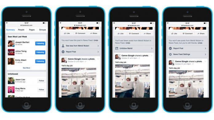 Mehr Kontrolle über den Facebook-Newsfeed