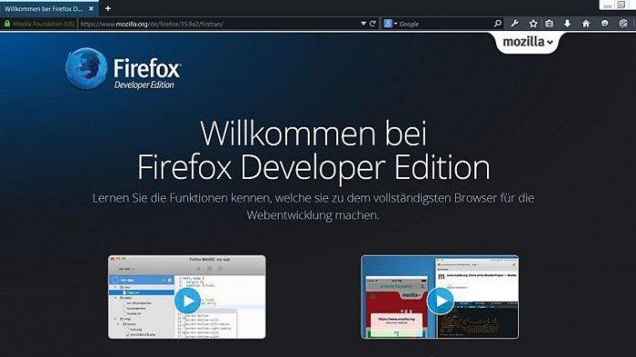 10 Jahre Firefox: Die Developer Edition des Browsers ist da