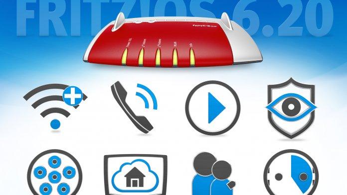 FritzOS 6.20 für alle aktuellen AVM-Router- und Repeater verfügbar