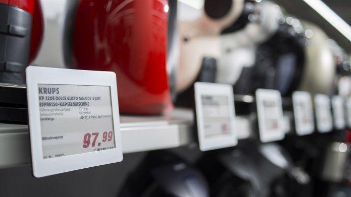 Elektronische Etiketten: Preise werden beweglicher