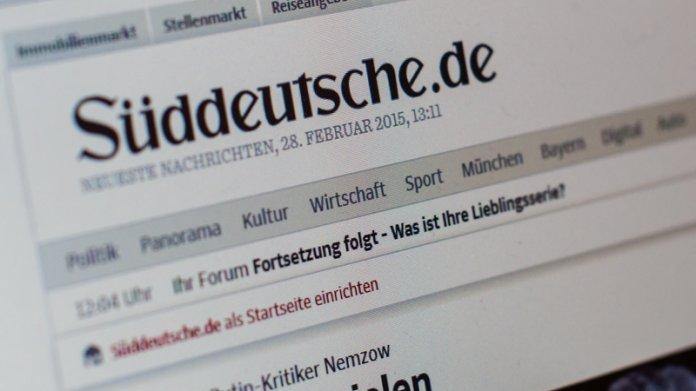 Paywall: Süddeutsche zieht im Internet Bezahlschrank hoch