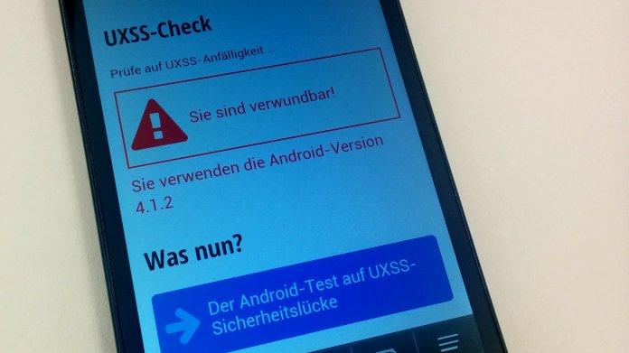 UXSS-Lücke bei Android: Jetzt Geräte testen!
