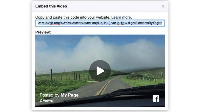 Facebook: Embedded Video-Player und Internet of Things