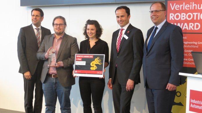 Hannovermesse: Frei navigierende Roboter gewinnen Robotics Award