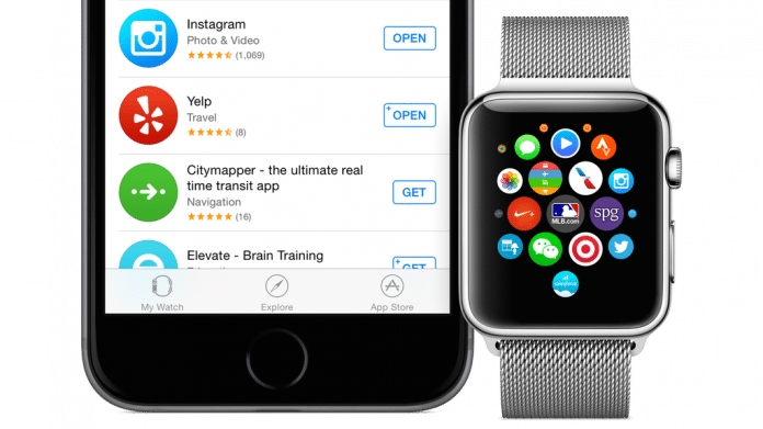 Apple startet App Store für Apple Watch