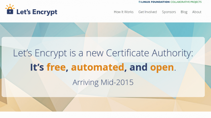 SSL-Zertifizierungsstelle: Lets Encrypt