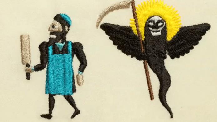 Animationsfilm – gestickt