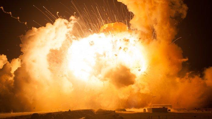 Selbstzerstörung der Antares-Rakete