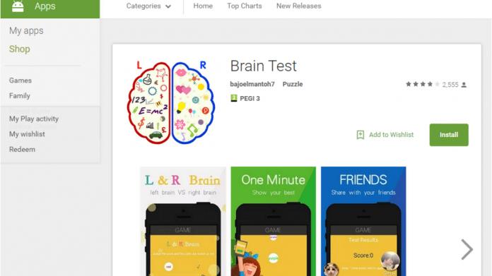 Brain Test - Google Play Store